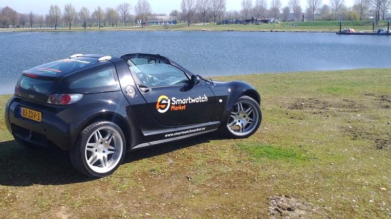 Smart Roadster Coupé marketing car